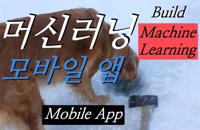 머신러닝 모바일 앱 5종 따라 만들기 – Firebase ML Kit 과 Flutter, TensorFlow Lite 이용